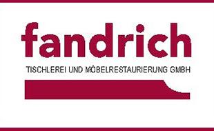 Logo von Fandrich GmbH - Tischlerei und Möbelrestaurierung