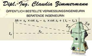 Bild zu Zimmermann Claudia Dipl.-Ing. in Berlin