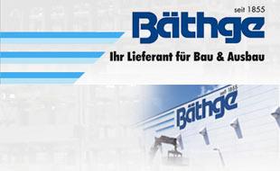 Logo von Bäthge Baustoffe GmbH & Co. KG