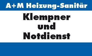 Logo von A + M Heizung-Sanitär GmbH