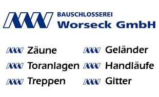 Logo von Bauschlosserei Worseck GmbH