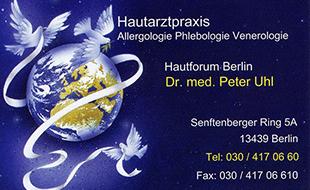 Bild zu Uhl Peter Dr. med. in Berlin