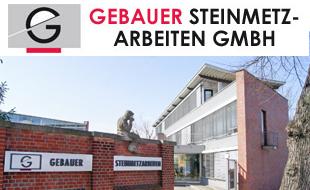 Bild zu Gebauer Steinmetzarbeiten GmbH in Berlin