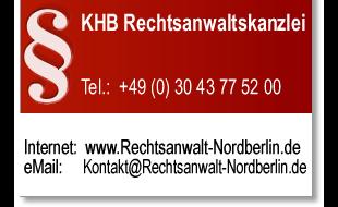 Bild zu DHB Rechtsanwaltskanzlei in Berlin
