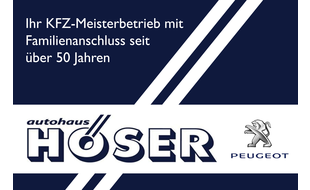 Logo von Autohaus Höser GmbH