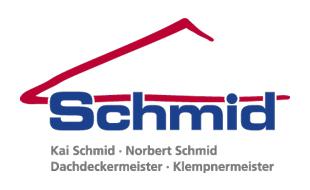 Logo von Schmid, Kai  - Dachdeckerei und Bauklempnerei