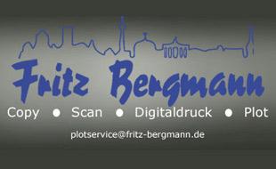 Logo von Bergmann Reprografie GmbH & Co. KG