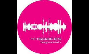 Logo von 44spaces Designmanufaktur e.Kfr.