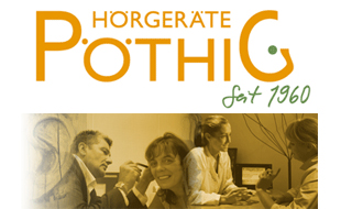 Logo von Hörgeräte Pöthig GmbH