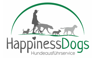 Logo von HappinessDogs Inh. Stephanie Theis