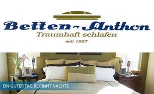 Logo von Betten-Anthon Traumhaft Schlafen GmbH