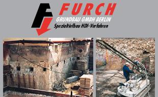 Logo von Furch Grundbau GmbH Berlin