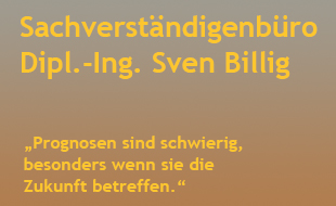 Bild zu Billig, Sven, Dipl.-Ing. - Zertifizierter Sachverständiger in Berlin