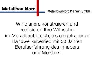 Logo von Metallbau Nord Planum GmbH