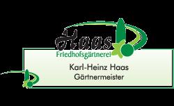 Logo von Friedhofsgärtnerei Haas