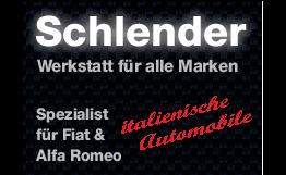 Schlender Servicepartner für Fiat & Alfa