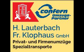Logo von Confern Umzugspartner Lauterbach & Klophaus