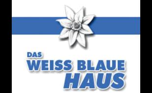 Weiss-Blaues Haus