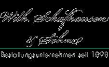 Beerdigungen W. Schafhausen