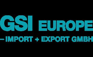 Logo von GSI Europe - Import & Export GmbH