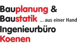 Logo von Ingenieurbüro für Bauplanung & Baustatik Dipl.-Ing. Michael Koenen