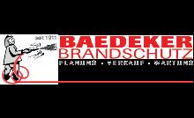 Logo von Baedeker Brandschutz GmbH