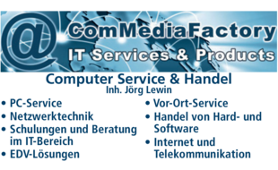 Bild zu ComMediaFactory Computer Service & Handel in Uedem