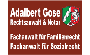 Bild zu Anwaltskanzlei Adalbert Gose Rechtsanwalt & Notar in Wesel