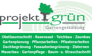 Projekt grün Gartengestaltung