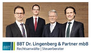 Bild zu BBT Dr. Lingenberg & Partner mbB Rechtsanwälte Steuerberater in Landshut