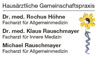 Höhne Rochus Dr.med., Rauschmayer Klaus Dr.med.