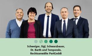 Bild zu Heindl, Schweiger, Sigl, Schwarzbauer, Dr. Barth und Temporale Rechtsanwälte, PartGmbB in Landshut