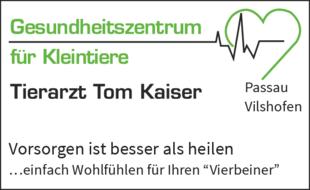 Gesundheitszentrum für Kleintiere Tierarzt Kaiser Tom