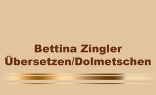 Logo von Zingler Bettina