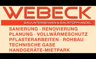 Bild zu Webeck Bauunternehmen & Baustoffhandel in Mamming