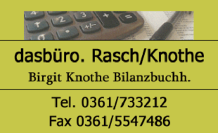 Logo von dasbüro. Rasch/Knothe