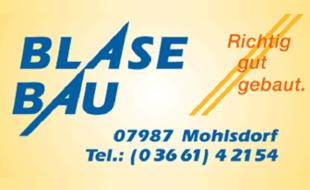 Bild zu Blase Bau GmbH in Mohlsdorf Teichwolframsdorf