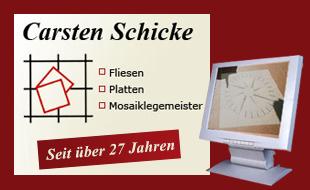 Bild zu Schicke, Carsten Fliesen-, Platten- u. Mosaiklegermeister in Erfurt