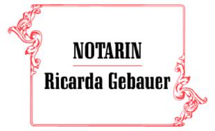 Logo von Gebauer, Ricarda Notarin