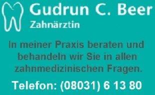 Bild zu Beer Gudrun C. Zahnärztin Rosenheim in Kaltwies Stadt Rosenheim in Oberbayern