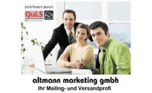 Logo von Altmann Marketing GmbH
