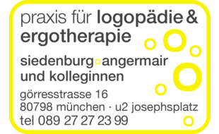 Bild zu Logopädie & Ergotherapie Siedenburg und Angermair in München