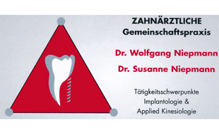 Zahnärztliche Gemeinschaftspraxis Dres. W. & S. Niepmann