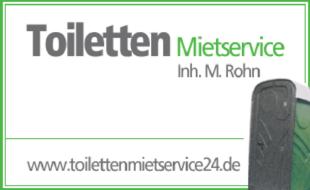 Bild zu ROHN,Martin ToilettenMIETSERVICE24 in Nordhausen in Thüringen