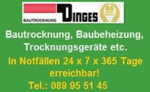 Bild zu Bautrocknung Dinges e.K. in München