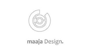 Logo von maaja Design.