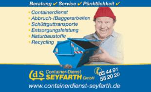 Bild zu CdS Containerdienst Seyfarth GmbH in Sommeritz Stadt Schmölln