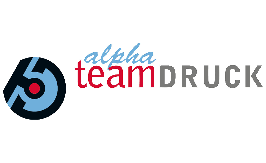 Logo von Alpha-Teamdruck GmbH