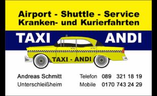 Bild zu ANDI-TAXI in Lohhof Stadt Unterschleißheim