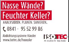 ISOTEC - Fachbetrieb Abdichtungssysteme Häusler